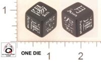 Dice : MINT18 Q WORKSHOP LEGEND OF THE FIVE RINGS 02