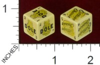 Dice : MINT38 DOLE PINEAPPLE COTTAGE CHEESE