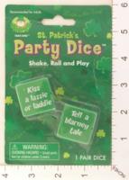 Dice : MINT18 TAKE ONE SAINT PATRICKS PARTY DICE 01