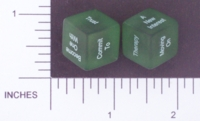Dice : NON NUMBERED TRANSLUCENT ROUNDED SOLID DESTINY DICE BREAK UP 01