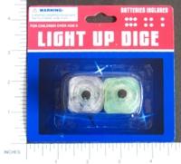 Dice : MINT7 D6 LIGHT UP DICE