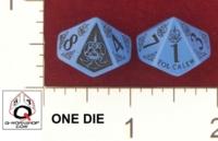 Dice : D10 OPAQUE ROUNDED SOLID Q WORKSHOP TOL CALEN KOMPAS DOT PL 01