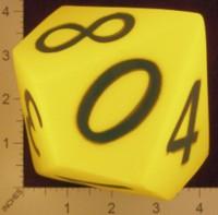 Dice : FOAM2 MINION GAMES D10 01