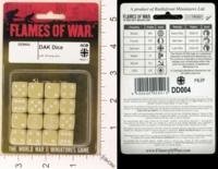 Dice : MINT19 FLAMES OF WAR DAK GERMAN 01