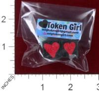 Dice : MINT38 TOKEN GIRL HEARTS