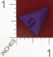 Dice : MINT25 SHAPEWAYS DIZINGOF ISOSCELES TETRAHEDRON D4 01