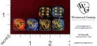Dice : MINT38 CHESSEX FOR WYRMWOOD GAMING