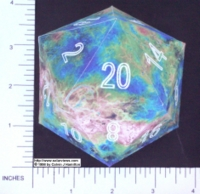 Dice : PAPER D20 2 ICOVENUS 01