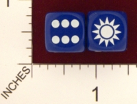 Dice : MINT20 CHESSEX AXIS AND ALLIES CHINA 01