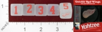 Dice : MINT24 USAOPOLY DETROIT RED WINGS YAHTZEE 01