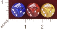 Dice : MINT29 CHESSEX CUSTOM FOR ODYSSEY GAME SHOP 01