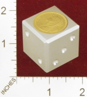 Dice : MINT25 ACE PRECISION EGYPTIAN COIN 01