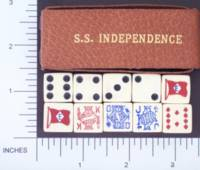 Dice : MINT1 AMERICAN EXPORT LINE SS INDEPENDENCE 01