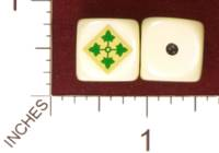 Dice : MINT29 YAK YAKS US ARMY 4TH INFANTRY DIVISION 01