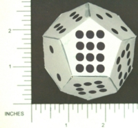 Dice : PAPER D12 PIPPED
