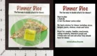 Dice : MINT19 LACOSA DOT ETSY DOT COM DINNER DICE 01