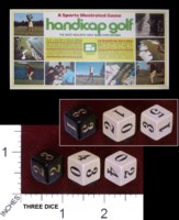 Dice : MINT35 SPORTS ILLUSTRATED HANDICAP GOLF