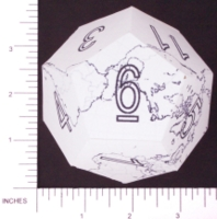 Dice : PAPER D12 3 DODECEARTH 04