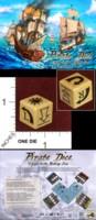 Dice : MINT35 GRYPHON GAMES PIRATE DICE TREASURE DIE