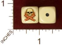 Dice : MINT31 YAK YAKS SKULL AND CROSSBACONS 01