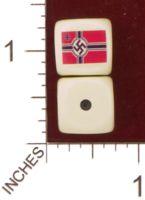 Dice : MINT29 YAK YAKS NAZI GERMAN WAR FLAG 01