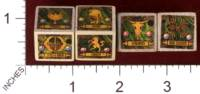 Dice : MINT30 PRINT AND PLAY PRODUCTIONS DUNE EXPRESS STEAMPUNK VARIANT FACTION DICE 01
