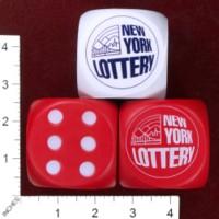 Dice : FOAM3 NEW YORK LOTTERY