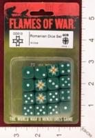 Dice : MINT27 FLAMES OF WAR DD013 ROMANIAN DICE 01