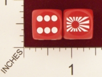 Dice : MINT20 CHESSEX AXIS AND ALLIES JAPAN 01