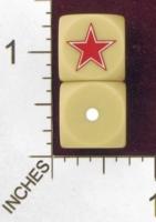 Dice : MINT28 NERO GAMING DICE ALLIES SOVIET STAR 01
