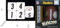 Dice : MINT18 USAOPOLY PITSSBURG STEELERS YAHTZEE 01