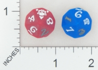 Dice : D10 OPAQUE ROUNDED SOLID UNKNOWN WORLD OF WARCRAFT 01