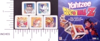 Dice : NON NUMBERED OPAQUE ROUNDED SOLID YAHTZEE 03 DRAGONBALL Z