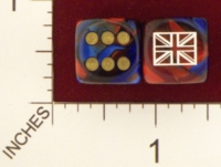 Dice : MINT20 CHESSEX AXIS AND ALLIES GREAT BRITIAN 01