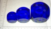 Dice : GLASS2 04 DK BLUE