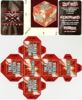 Dice : MINT20 FREMANTLEMEDIA LTD AND SIMCO THE X FACTOR 01