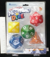 Dice : MINT16 LEARNING RESOURCES POLYHEDRAL 01