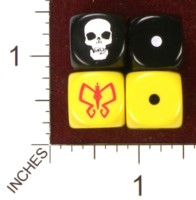Dice : MINT35 CATMONKEY VENTURE BROTHERS SKULL MONARCH