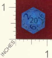 Dice : MINT24 SHAPEWAYS DIZINGOF D20 DICE 01