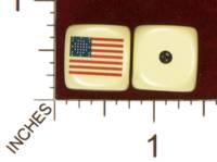 Dice : MINT29 YAK YAKS US 33 STAR FLAG 01