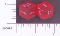 Dice : NON NUMBERED TRANSLUCENT ROUNDED SOLID DESTINY DICE GENERAL 01