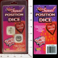 Dice : MINT26 FORUM NOVELTIES FOR LOVERS SEXUAL POSITION DICE 01