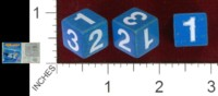 Dice : MINT39 PARKER BROTHERS PUSH OVER