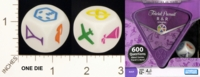 Dice : MINT18 PARKER BROTHERS TRIVIAL PURSUIT R AND R SINGLES 01