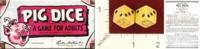 Dice : MINT22 PARKER BROTHERS PIG DICE 01