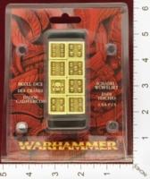 Dice : MINT24 GAMES WORKSHOP WARHAMMER SKULL DICE