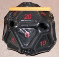 Dice : MINT29 CRYSTAL CASTE INFLATABLE D20 01