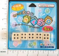 Dice : MINT7 D6 JAPANESE 01