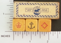 Dice : MINT1 ST GEORGES CROWN AND ANCHOR 01