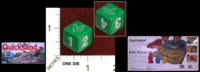 Dice : MINT34 PARKER BROTHERS QUICKSAND 01